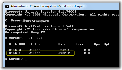 Cara Install Windows 7 di USB Flashdisk