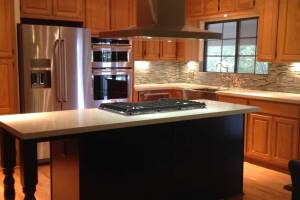 Kitchen after remodel by Ranieri Construction LLC