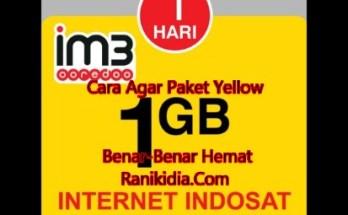 Cara Agar Paket Yellow Indosat Ooredoo Benar-Benar Hemat 2018