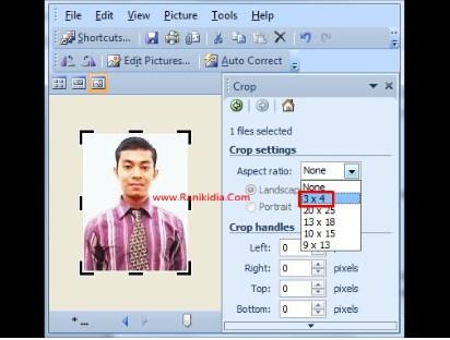 Cara Mudah Edit Rasio Foto 3:4 Pendaftaran CPNS 2018