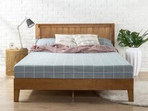 Tempat Tidur Kayu Biasa Model Minimalis