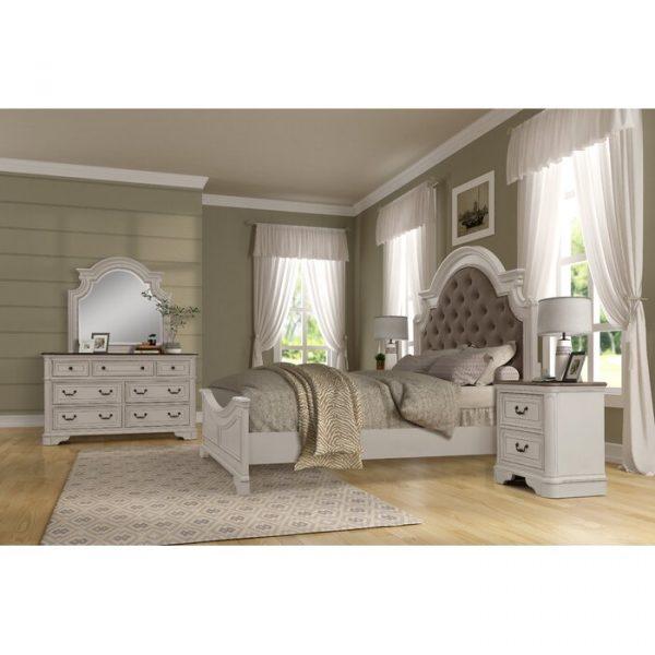 Kamar Set Minimalis Putih Lilia