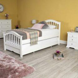 Tempat Tidur Minimalis Chelsea White