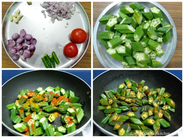 How to prepare bhindi masala