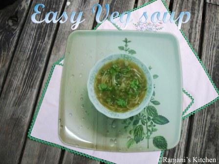Easy Veg Soup