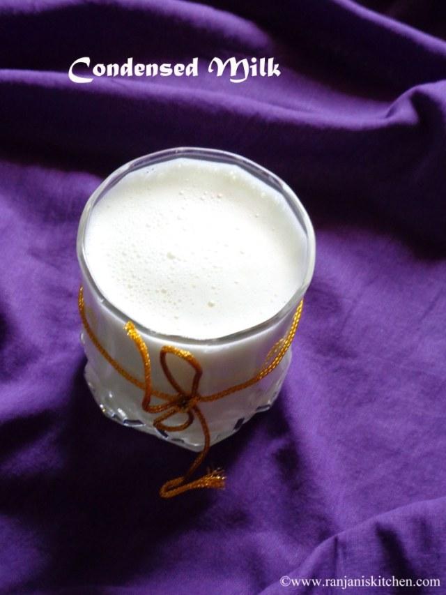 Home made Condensed Milk