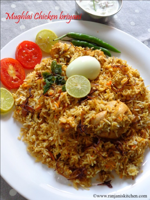 recipe of chicken biryani