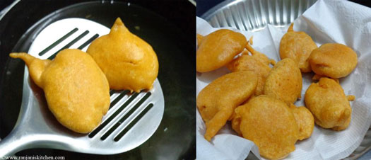 How to make potato bajji