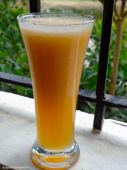 home-made-muskmelon-juice