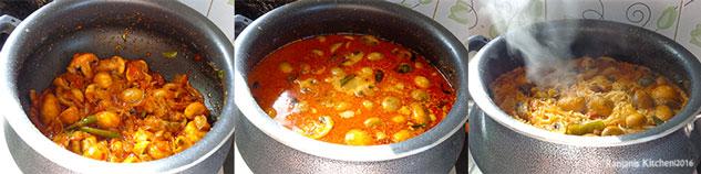 mushroom-biryani-cooking