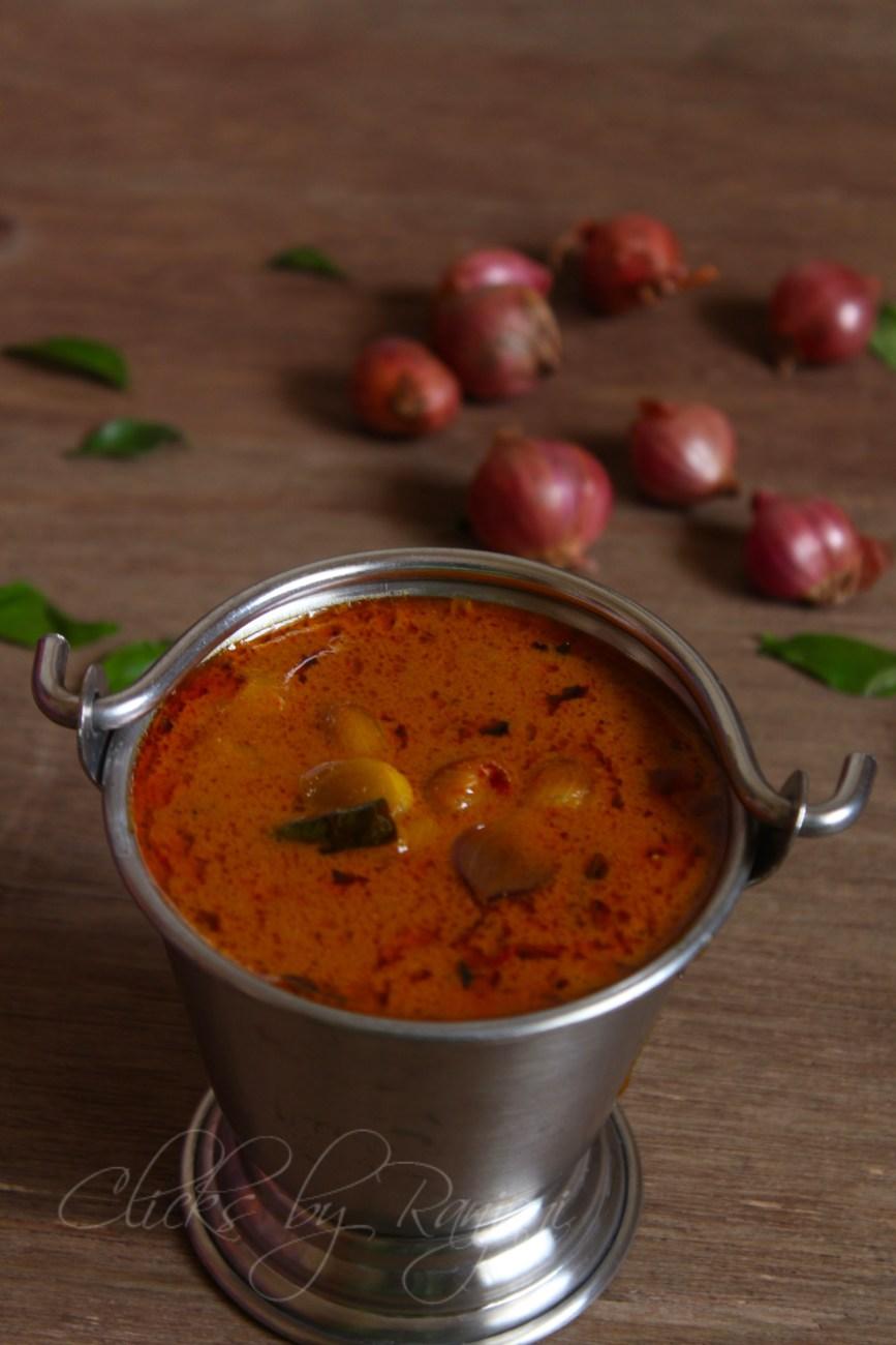 Vengaya Kuzhambhu Recipe | Kuzhambhu Recipes