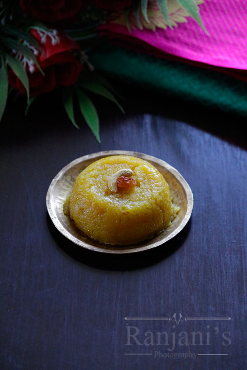 how-to-make-mango-kesari-bath