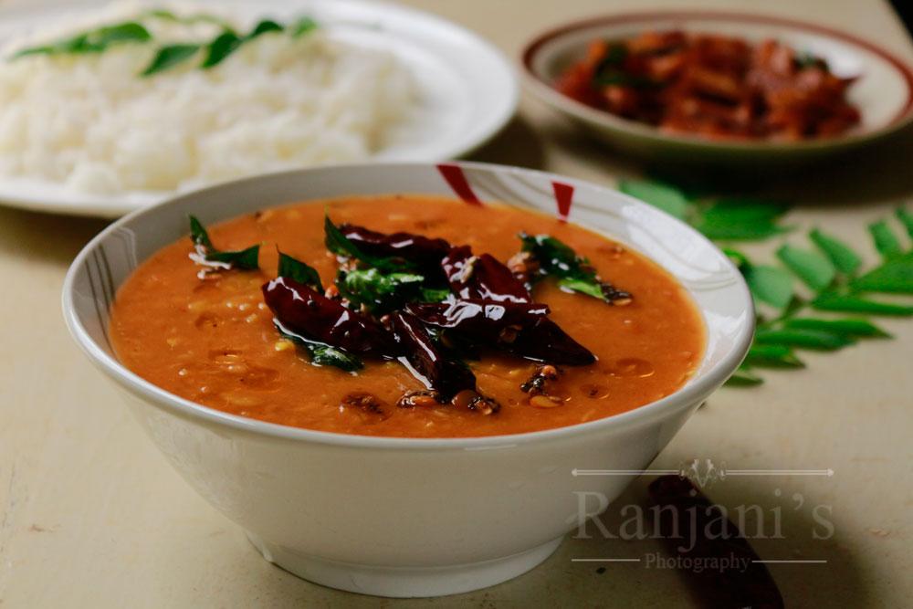 Andhra tomato dal |tomato dal Andhra style