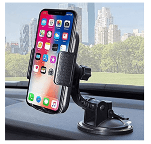 Universal car mount dashboard and windshield