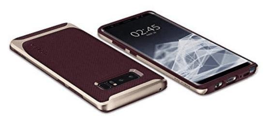 Spigen Neo hybrid case burgundy