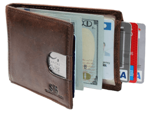 Serman brands genuine leather wallet for men