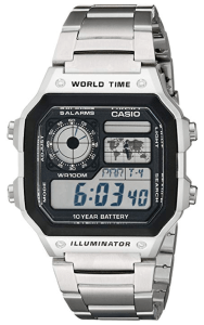casio best selling watch stainless steel digital