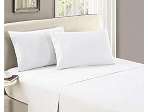 mellani flat sheet white