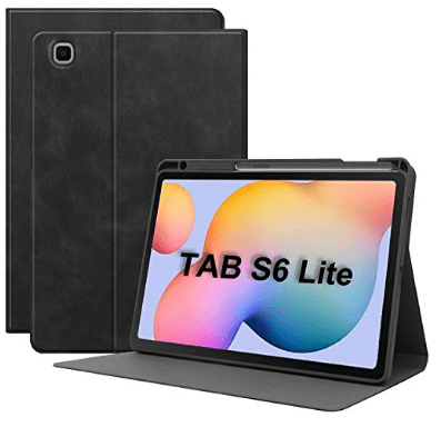TAB S6 lite leather cases