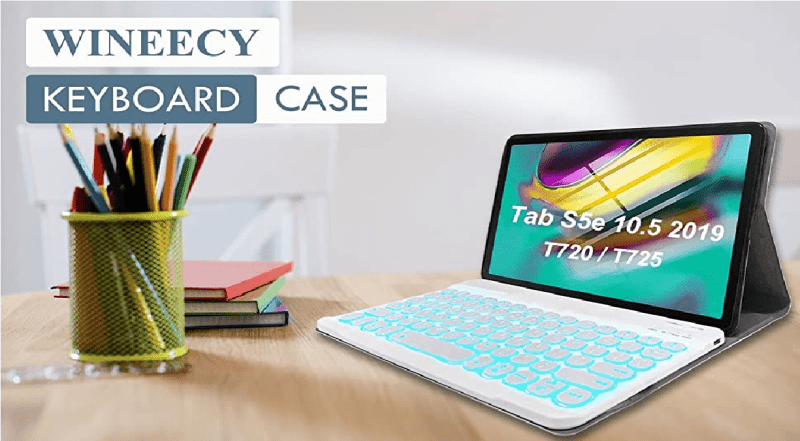 Best Keyboard Cases for Tab S5e