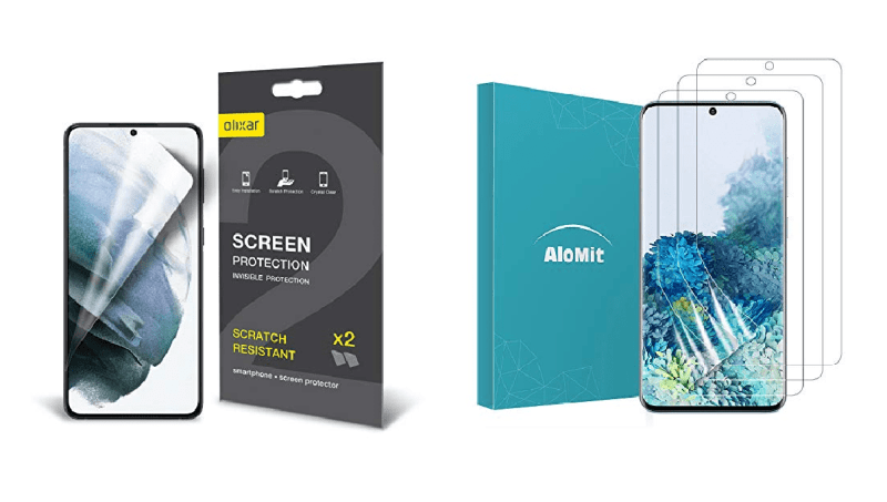 Best Screen Protector for Galaxy S21 plus 6.7-inch in the United Kingdom