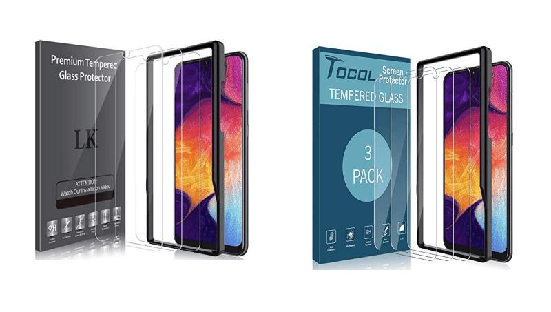 Galaxy A50: Best Screen Protectors
