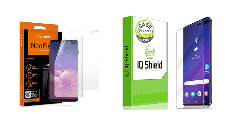 Galaxy S10 Ultra (6.4inch) Best Screen Protectors