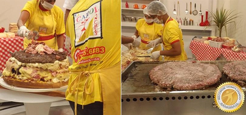 001267 01 - Qual o maior sanduíche do Brasil?