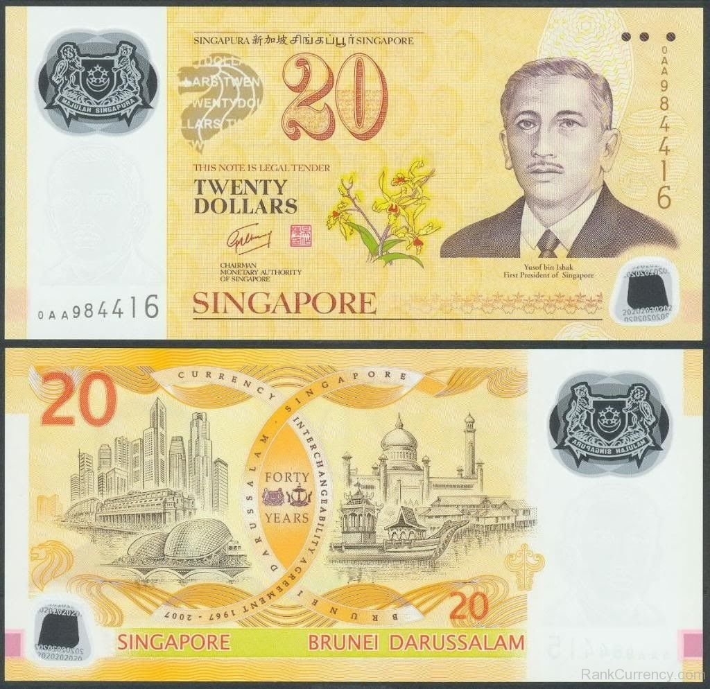 Singapore Currency Coins
