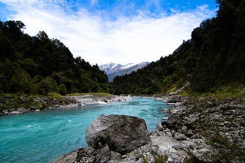 Large Flat River Rocks