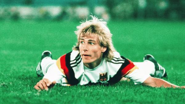 Jurgen Klinsmann entre os melhores jogadores alemaes de todos os tempos