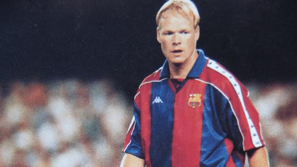 ronald koeman entre os maiores jogadores do Barcelona de todos os tempos