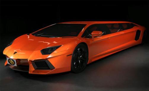 Lamborghini Aventador Limousine