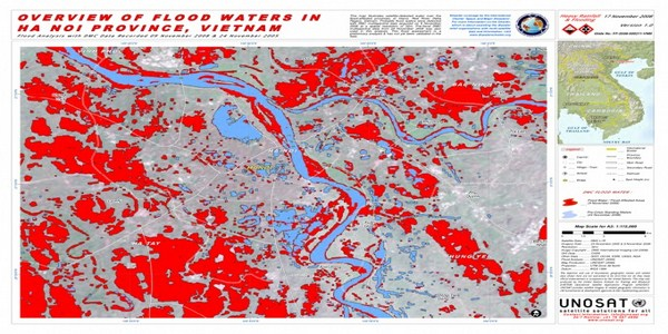 Red River and Hanoi Delta Flood