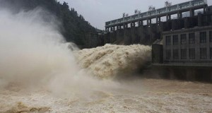 Yangtze river flood