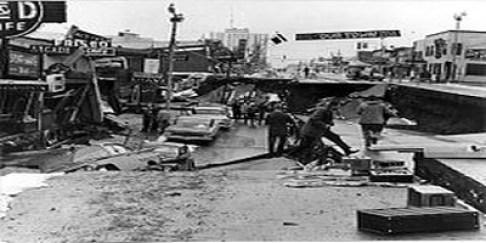 Alaska Earthquake - 1964