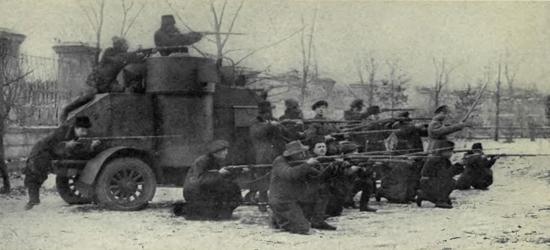 Russian Civil War - (1917-1921)