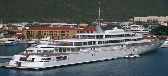 Largest Yachts in the World - Rising Sun