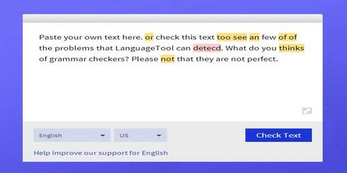 German essay checker