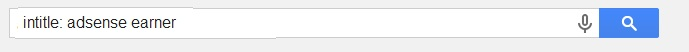 intitle search