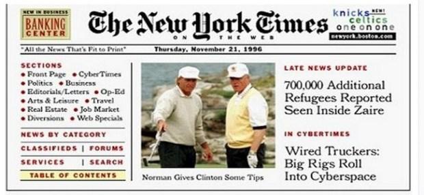 new york times 1995