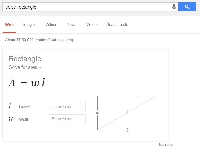 solve shape