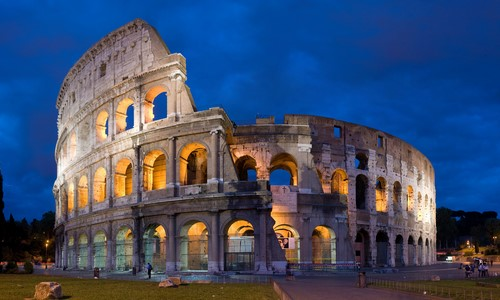Colosseum - Ancient Roman Architecture