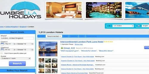 Find The Cheapest Hotel