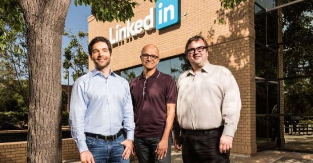Microsoft Buys LinkedIn for 26.2 billions