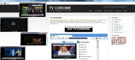 TV for chrome
