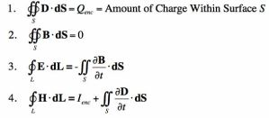 Maxwell's Theorems