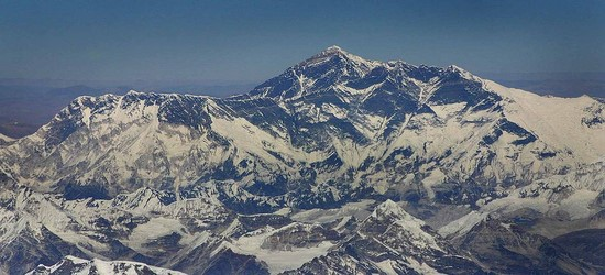 Mt. Everest is the World's Tallest Mountain