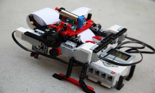 Braigo - Machines Made of LEGOs
