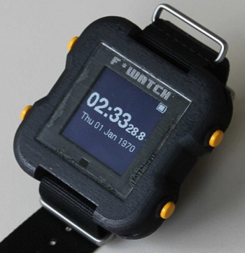 Fun Flexible Watch - DIY Electronics Projects